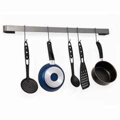 Wrought Iron Enclume Long Utensil Bar by Enclume