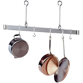 Enclume 36-inch Offset Hook Ceiling Bar Rack