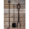 Amish Made Fire Tool Set Hand-crafted by the Amish and sold at TimelessWroughtIron.com