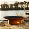 Asia 36 inch Outdoor Fire Pit atistically Hand-crafted by Fire Pit Art and sold at TimelessWroughtIron.com