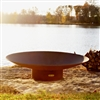 Asia 60 inch Outdoor Fire Pit atistically Hand-crafted by Fire Pit Art and sold at TimelessWroughtIron.com