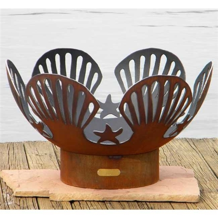 Barefoot Beach Outdoor Fire Pit atistically Hand-crafted by Fire Pit Art and sold at TimelessWroughtIron.com