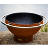 Bella Luna Outdoor Fire Pit atistically Hand-crafted by Fire Pit Art and sold at TimelessWroughtIron.com