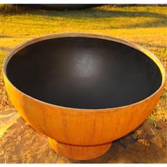 Crater Fire Outdoor Fire Pit atistically Hand-crafted by Fire Pit Art and sold at TimelessWroughtIron.com