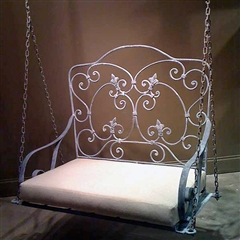 Iron Porch Swing