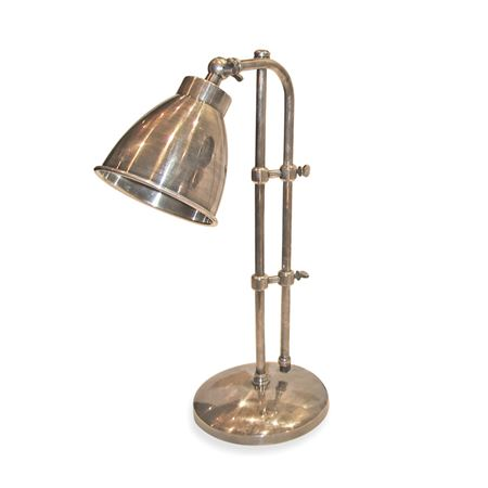 Pictured Here is the Industrial Steel Pharmacy Style Lamp at Timeless Wrought Iron
