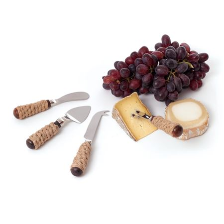 Roped Cheese Set