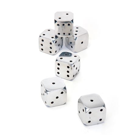 Set Of Six Sin City Dice