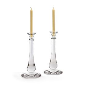 Pair Of Tear Drop Candlesticks