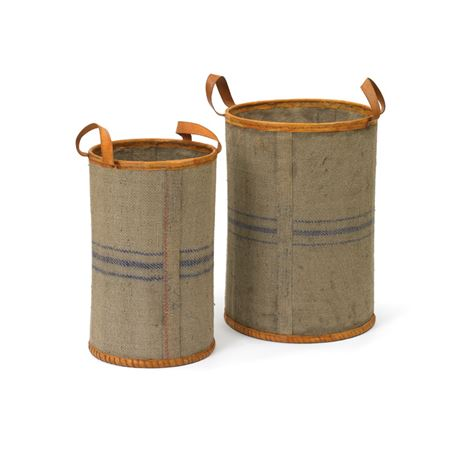 Set of Two Jute Tubes