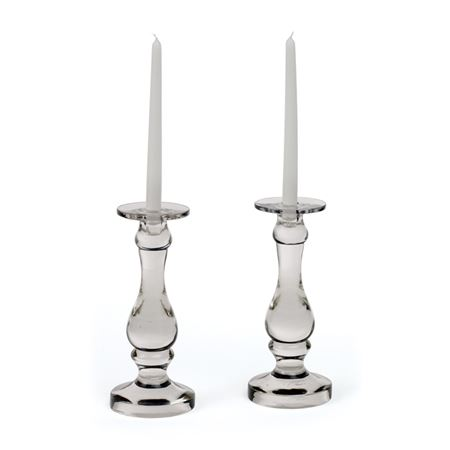 Pair of Roaring 20's Candle Holders
