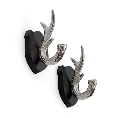 Pair Of Antler Hooks