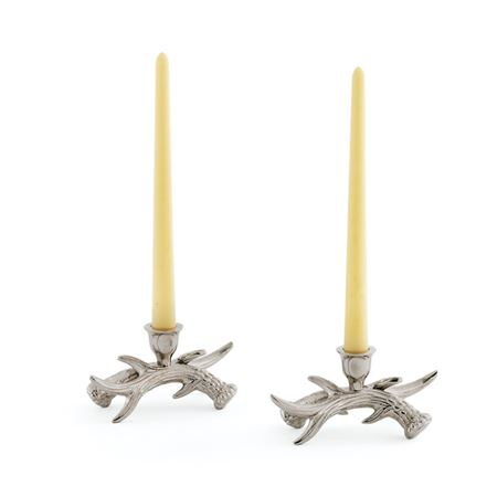 Pair Of Stag Candleholders