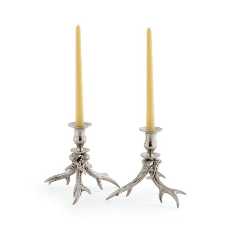 Pair Of Western Candleholders