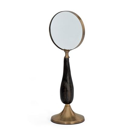 Brass Stand Up Magnifying Glass