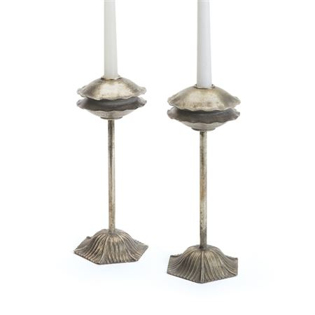 Pair of Tanger Candlesticks
