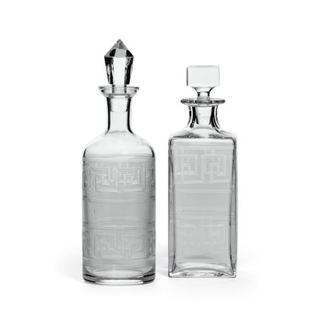 Set Of Two Moriches Decanters