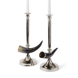Pair of Otis Candlesticks