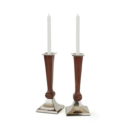 Pair Of Arbor Candlesticks