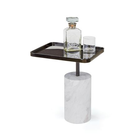 Black Scarlett Side Table