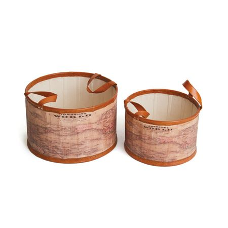 Set of Two Mondo Tubs