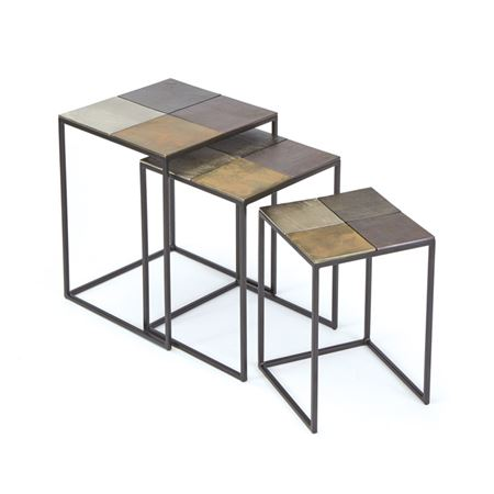 Set of Three Costello Nesting Tables