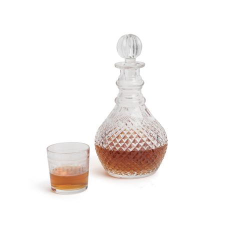 Kesler Cut Decanter