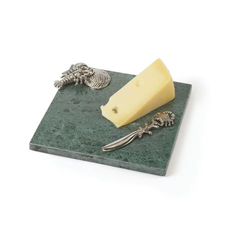 Wyatt Cheese Platter and Knife