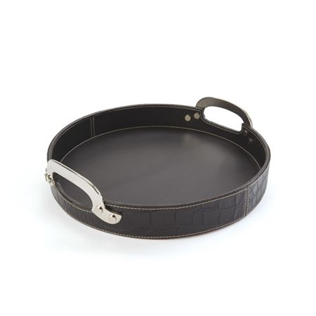 Drexel Leather Tray