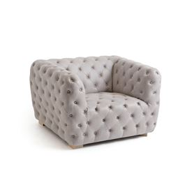 Grey Bethal Club Chair