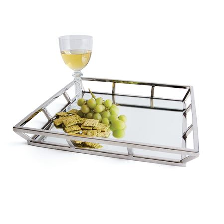 Mendez Mirrored Tray