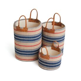 Set of Three Goodman Baskets