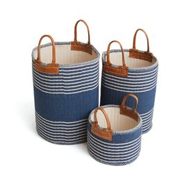 Set of Three Schumer Baskets