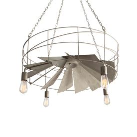 Exhaust Fan Chandelier
