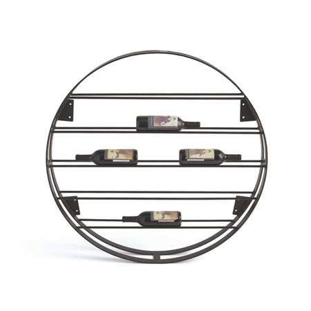 Pictured here is the Round Ladder Wine Rack at Timeless Wrought Iron