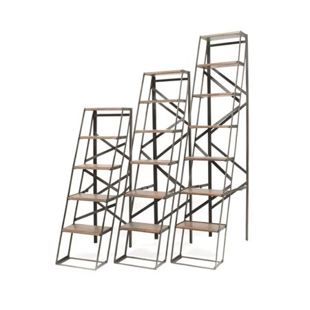 6' Iron & Wood Ladder