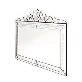 Extra Large Horizontal Venetian Mirror
