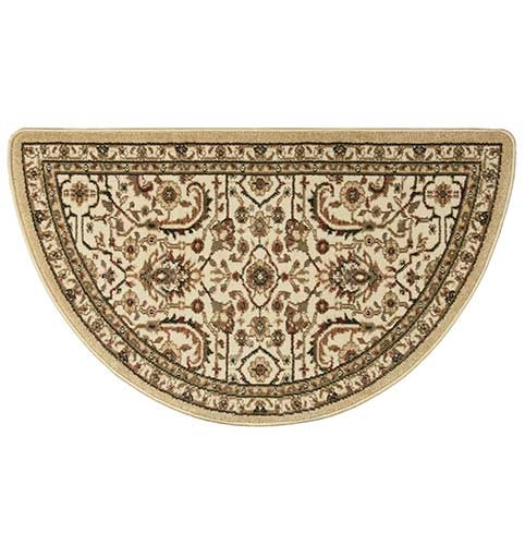 Half Round Gold Rug Manufactured In Larger Photo