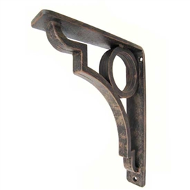 "Grant Wrought Iron Corbel | 1.5"" Wide"