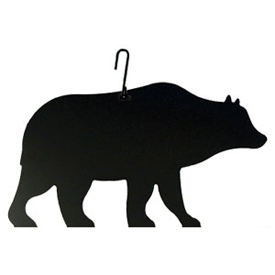 Wrought Iron Bear Silhouette