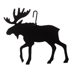 Wrought Iron Moose Silhouette