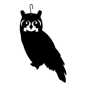 Wrought Iron Owl Silhouette