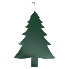 Wrought Iron Pine Tree Silhouette-GREEN