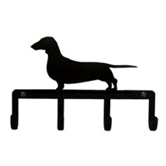 Wrought Iron Key Holder - Dachshund