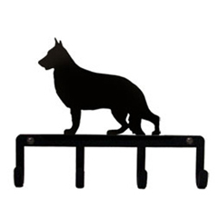 Wrought Iron Key Holder - German Shepherd