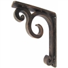 "Keaton Wrought Iron Corbel | 1.5"" Wide"