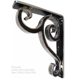 "Linley Wrought Iron Corbel | 1.5"" Wide"