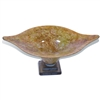 Pictured here is the Orange Passion Glass Bowl from Mathews and Company
