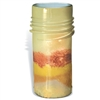 Pictured here is the Large Golden Rod Glass Jar from Mathews and Company