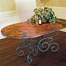 Wrought Iron Dining Tables 30 Unique Handcrafted Styles
